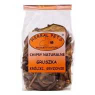 Herbal Pets Chipsy naturalne  gruszka 75g - chipsy_gruszka.jpg