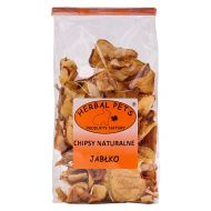 Herbal Pets Chipsy naturalne  jabłko 100g - chipsy_jablko.jpg